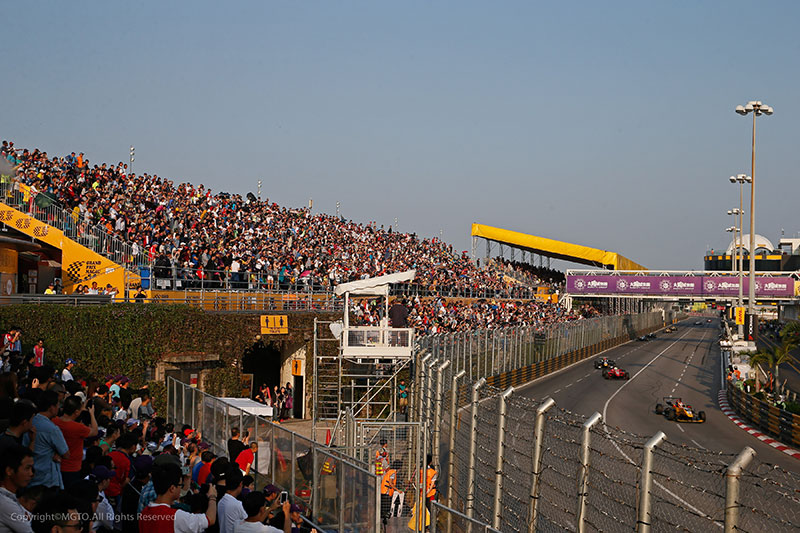 Macau Grand Prix Crowd