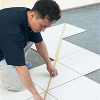 Laying Tiles Step1