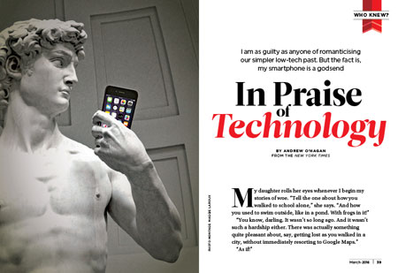 In Praise of Technology
