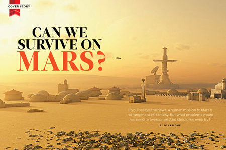 Can We Survive On Mars?