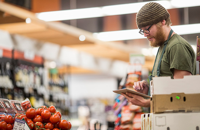 11. Study your grocery store's selling patterns for sales