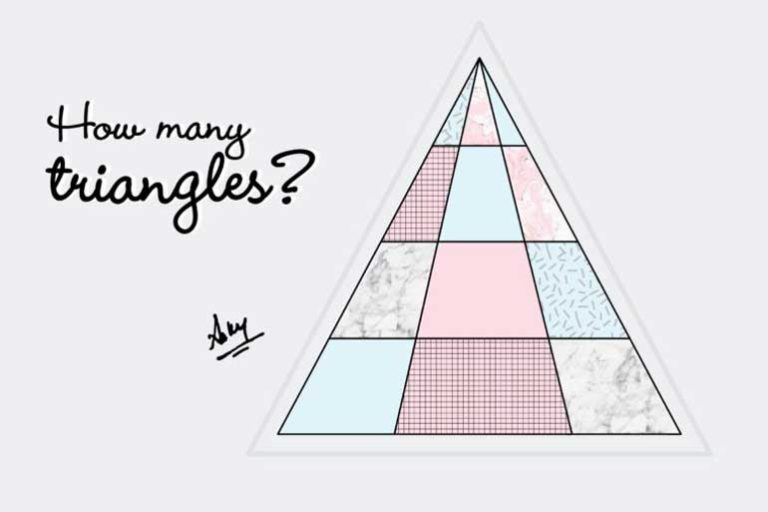 The Internet Can't Figure Out How Many Triangles Are in This Image