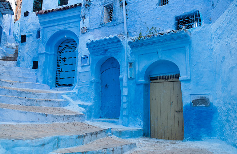 12. Chefchaouen, Morocco