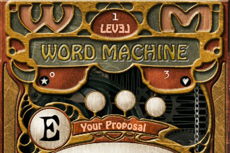 Word machine online game
