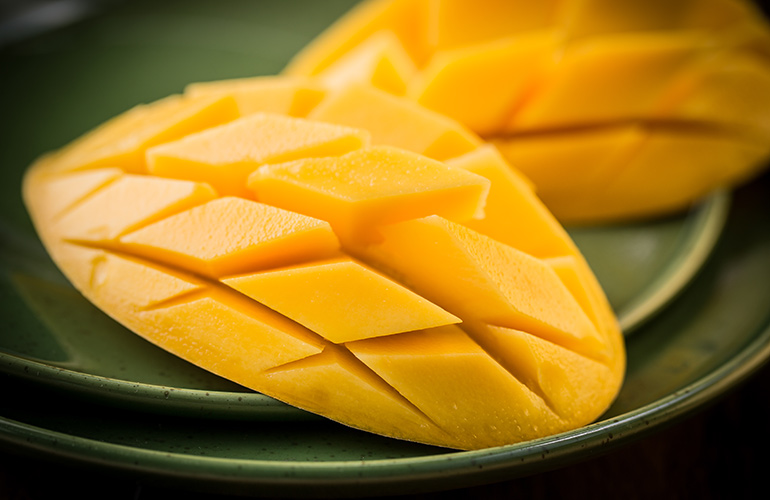 When you eat mangoes, you get…bloating and gas