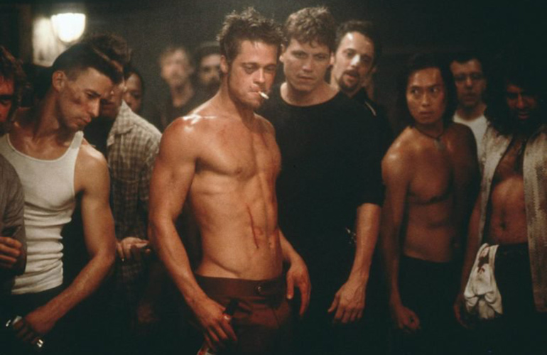 There's a Starbucks cup in every Fight Club scene