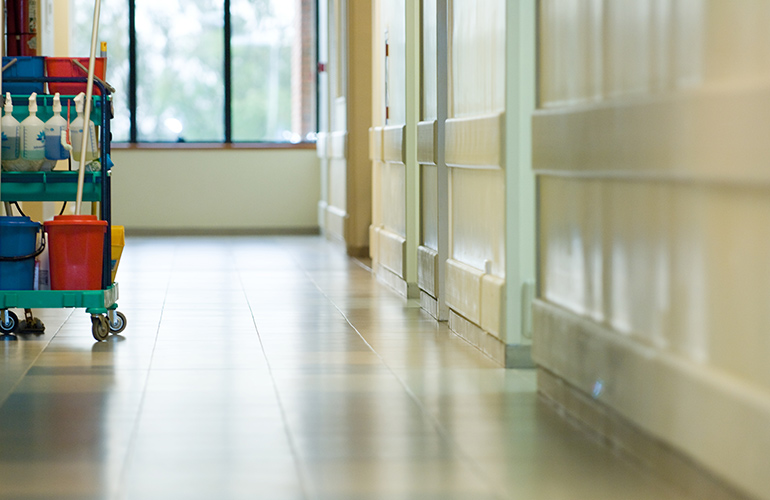Hospitals are full of drug-resistant germs