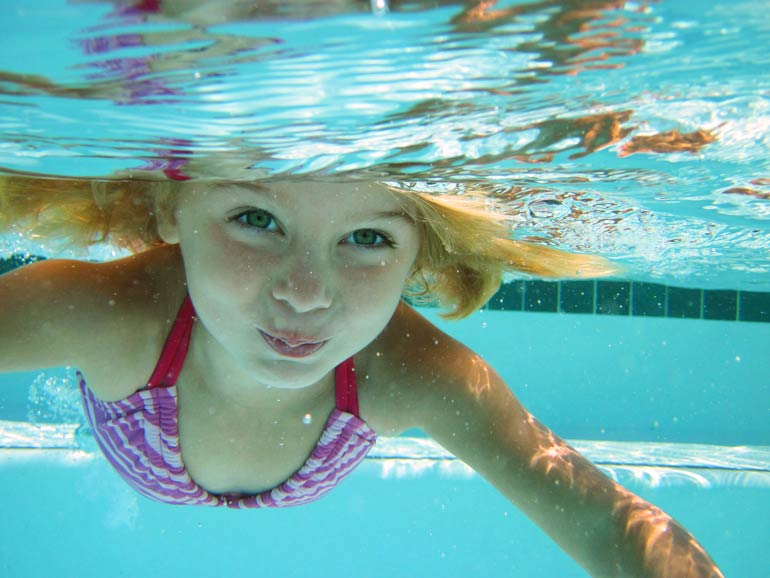 5. You don't think twice about pool drains