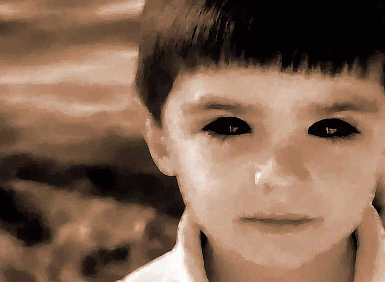 5. The Boy With No Eyes