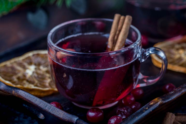 10. Mulled wine