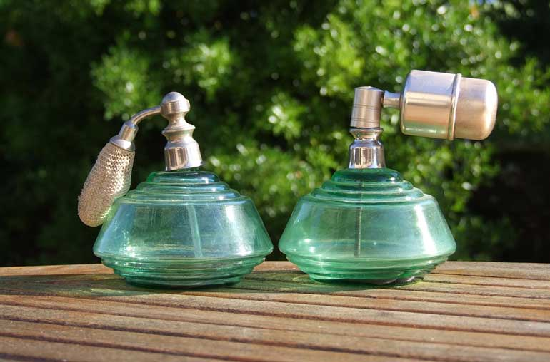 7. Don't wear heavy perfumes or scents
