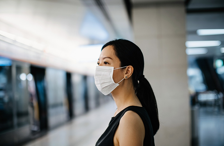 Myth: Wearing a mask can prevent the flu
