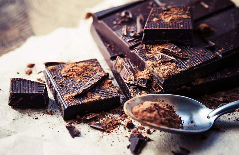 Dark chocolate is one of the best aphrodisiacs