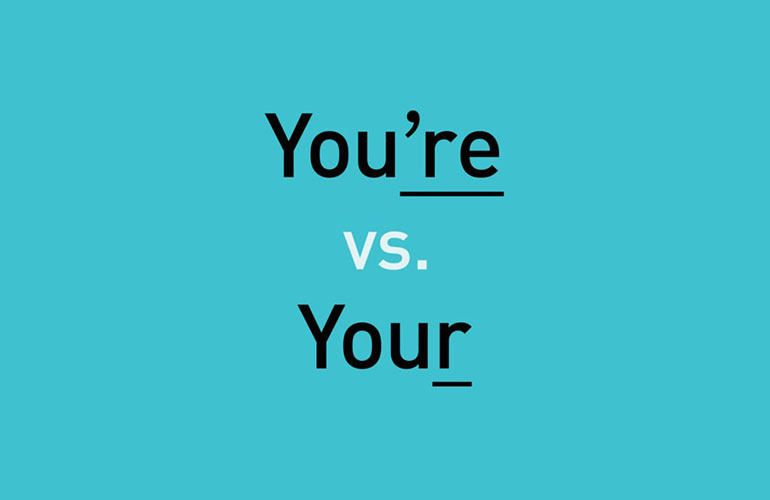 You're vs your