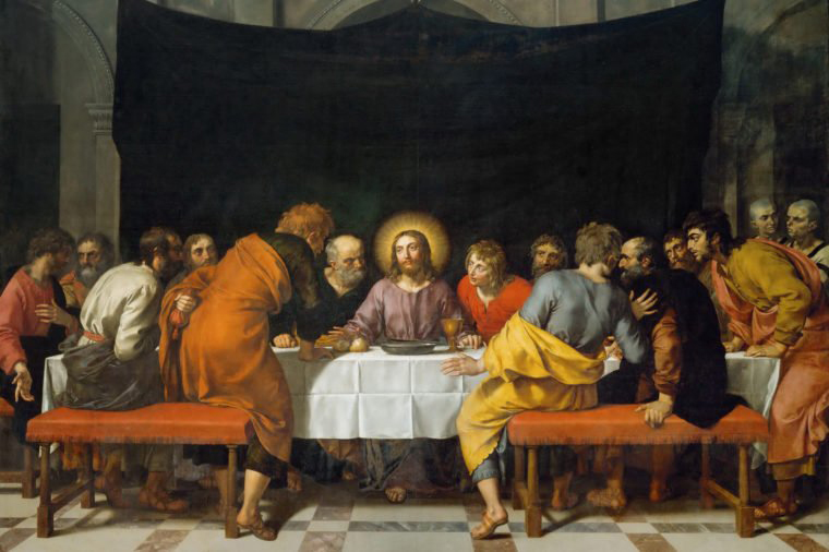 There were 13 people at the Last Supper