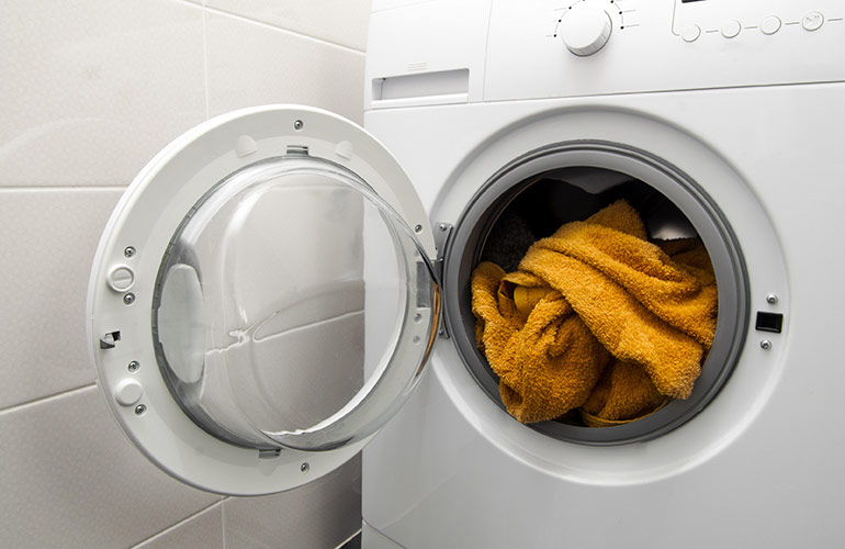Washing towels more often