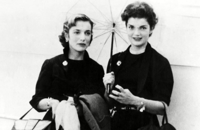 Lee Radziwell and Jackie Kennedy