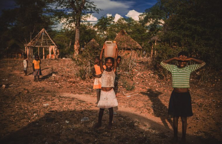 Zimbabwe children and the end of the world