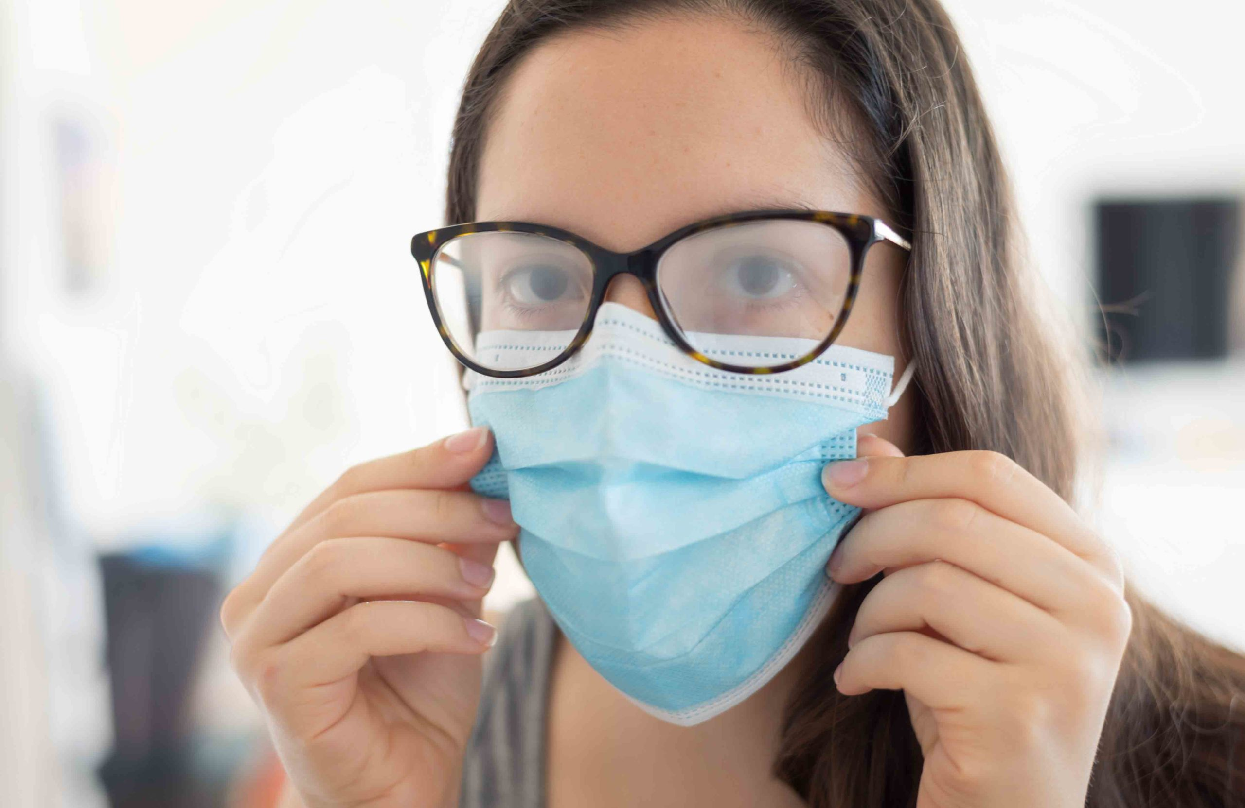 Glasses fogging up? Here's what to do about it