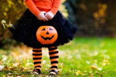 Why Halloween colours are black and orange