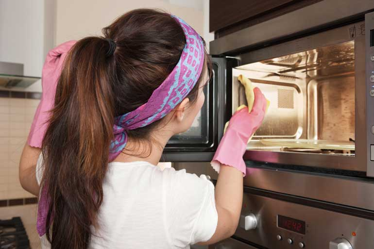 Neglecting your microwave