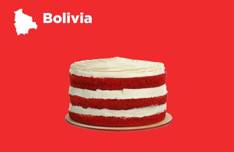 Bolivia: Bake coins into sweets