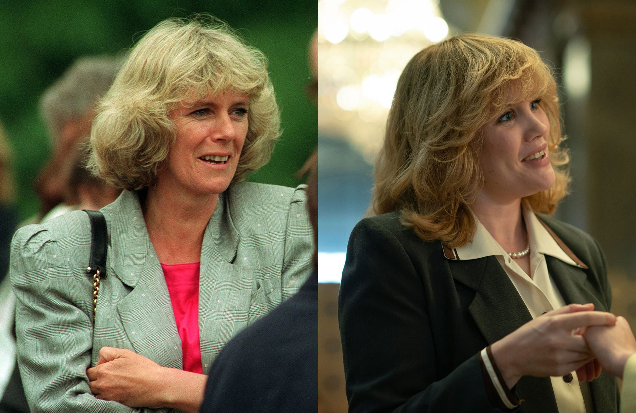 Camilla Parker Bowles, as played by Emerald Fennell