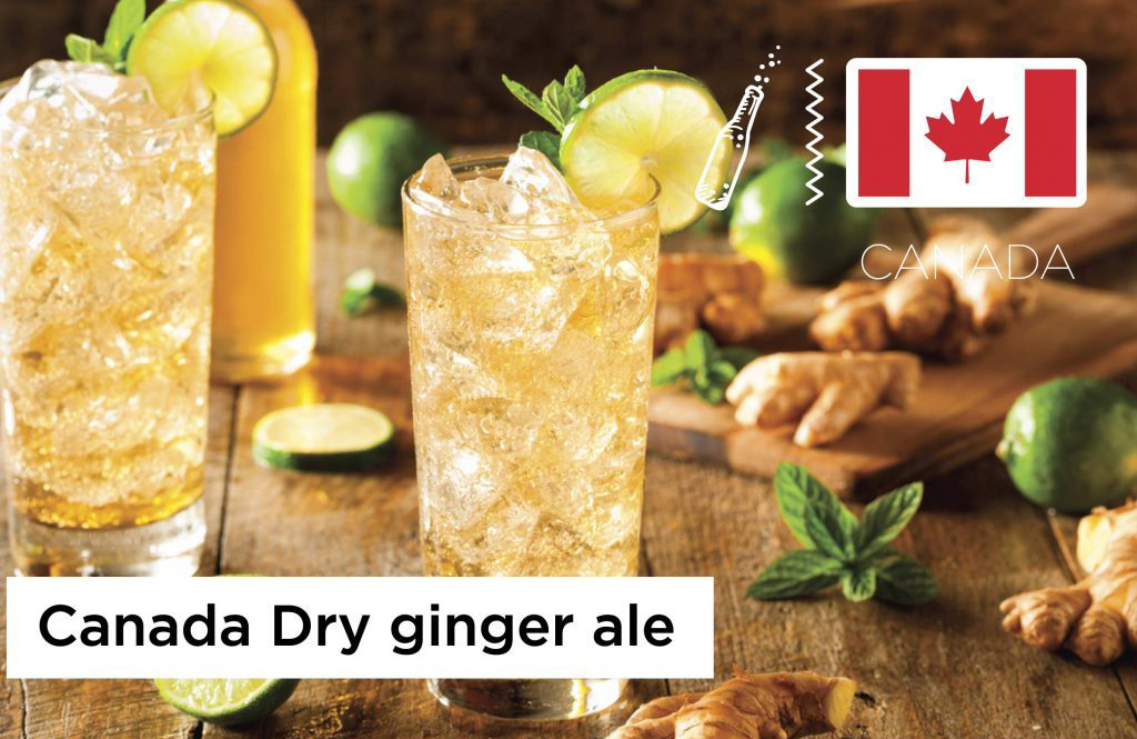 Canada: Canada Dry ginger ale