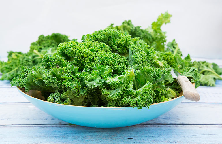 You never touch kale (or other leafy greens)