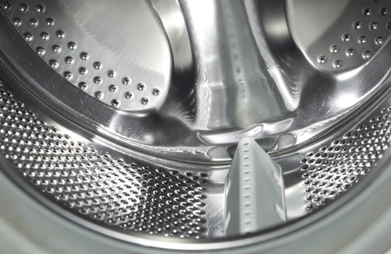 Not cleaning out your washing machine's dispensers