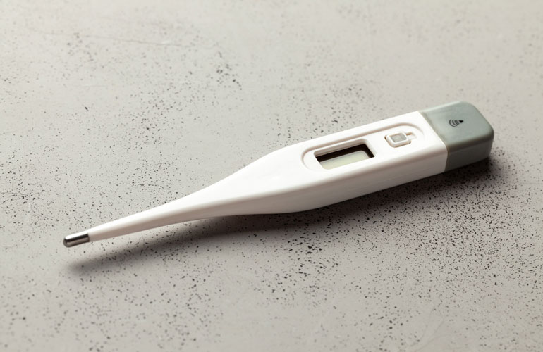 Rubbing alcohol use: Disinfecting your thermometer