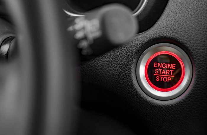 Start your car with your key fob