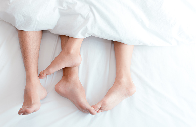Sleeping naked could improve your sleep quality